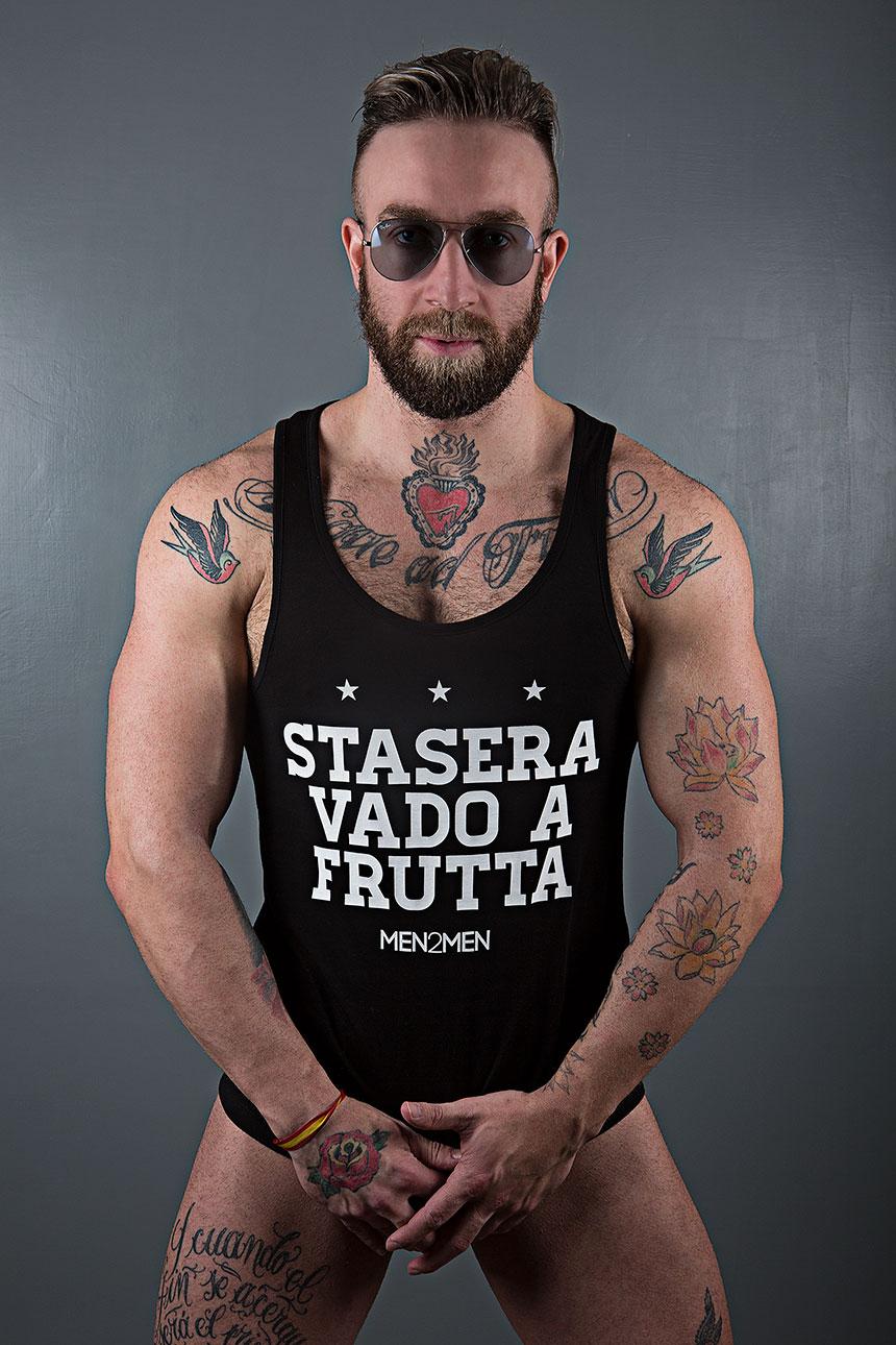 MEN2MEN, Gay Only-Men Party Rome, Party Only-Men Roma, Serata gay a Roma, Canotte, Tank Top